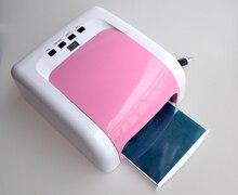 Professional Nail Art 2016 New Hot Pink EU Plug 110V 240V Voltage UV Gel Nail Dryer 66W UV LED lamp