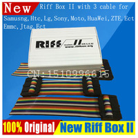 2018 Riff Box-best Jtag для htc, SAMSUNG, huawei разблокировка и вспышки и ремонт с 3 шт. плоские кабели все 5 + отзывы + Быстрая доставка