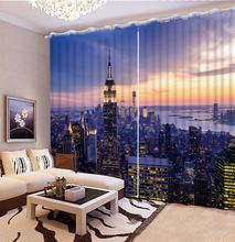 3d занавеска для гостиной светонепроницаемая комнаты украшение