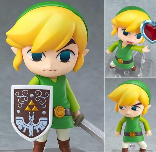 The Legend of Zelda Link Nendoroid Game Legend of Zelda PVC Action font b Figure b