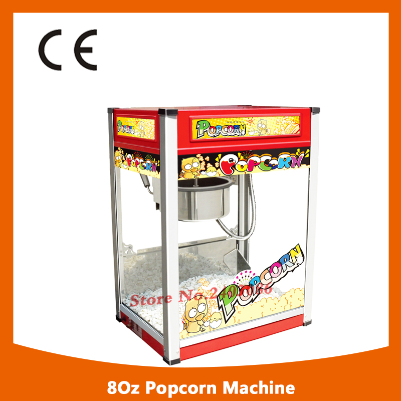 KW-BG801 Ce approved 80oz electric kettle corn popcorn maker machine popcorn making machine with long life motor pop 06 economic popcorn maker commercial popcorn machine with cart