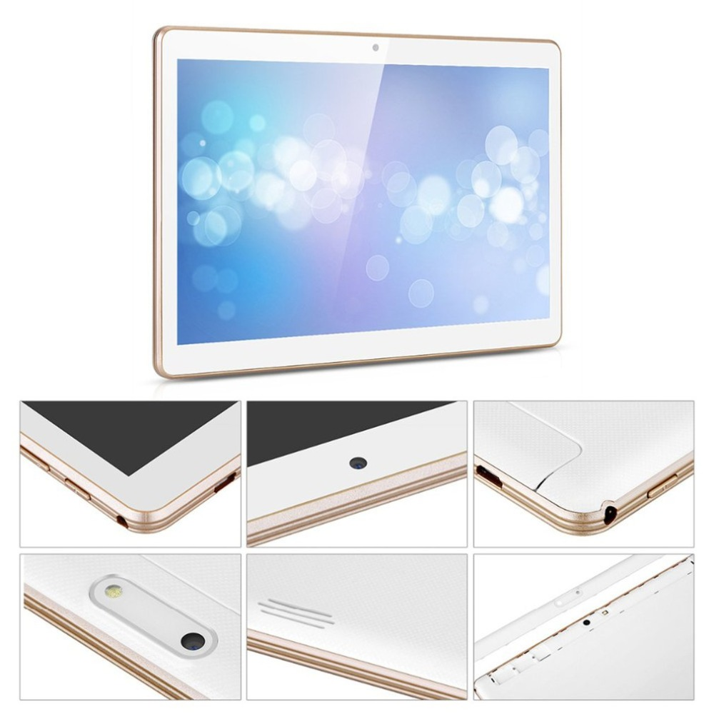 10.1 inch Tablet PC Quad Core 2GB RAM 32GB ROM Dual SIM Cards 3G WCDMA for Android 7.0 GPS Tablet PC