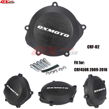 Motorcycle Clutch Cover Protector Cover Fit For crf 450r CRF450R 2009-2016 2010 2011 2012 2013 2014 2015 2016 clutch cover protection cover water pump cover protector for ktm 350 exc f excf 2012 2013 2014 2015 2016