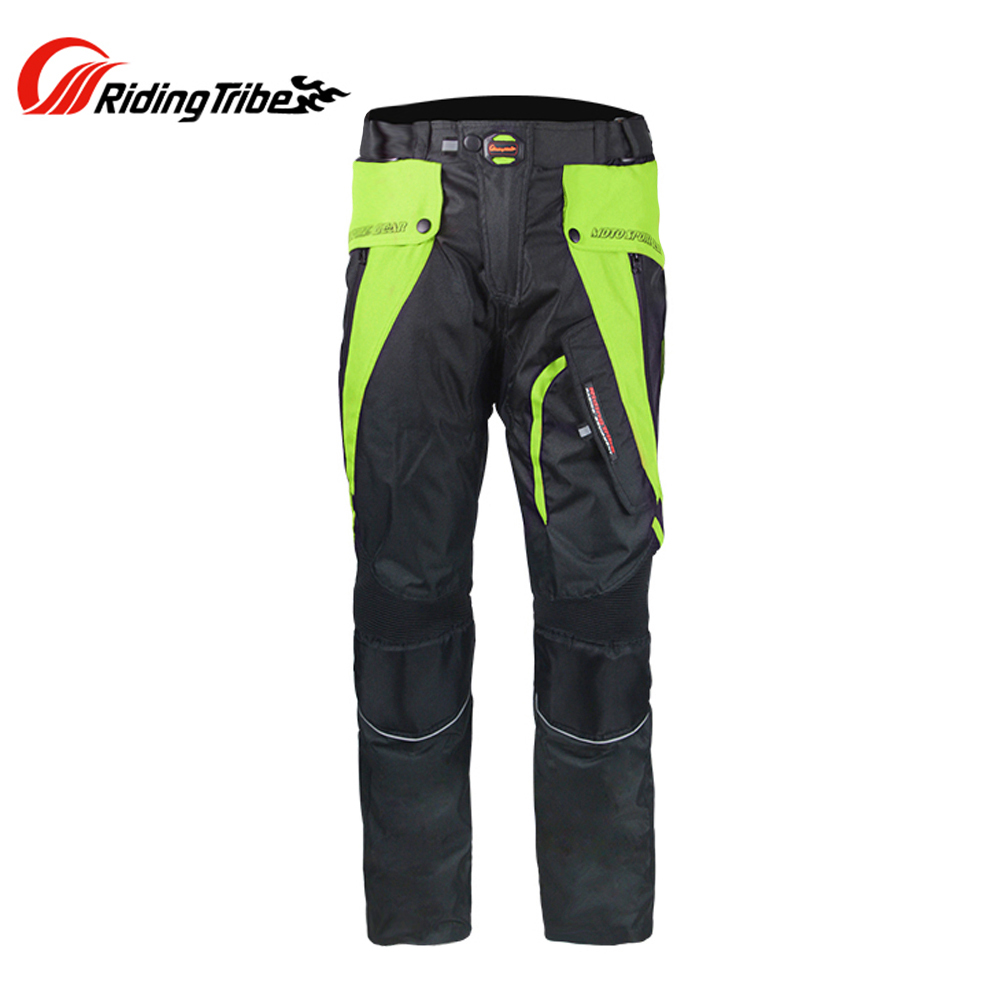 Riding Tribe Men Breathable Motocross Off-Road Riding Pants Breathable Motorcycle Touring Travel Racing Trousers Clothing