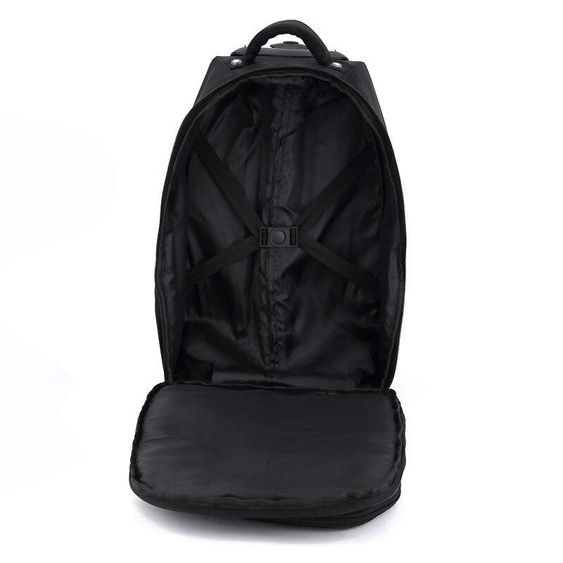 BAIJIAWEI nouveau sac à dos pour hommes sac de voyage d'affaires sac à bandoulière étanche grande capacité sac à dos Trolley sacs à dos d'ordinateur portable-in Sacs à dos from Baggages et sacs    3
