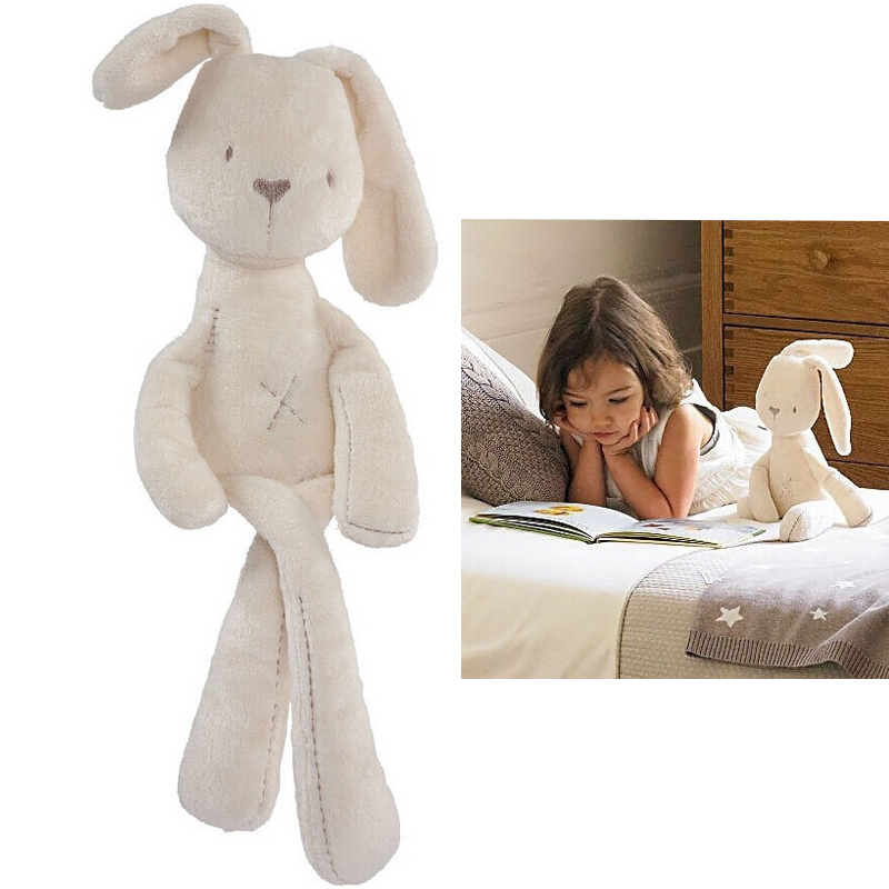 Hot Sale 54CM Cute Baby Kids Soft Plush Toys Animal Rabbit Sleeping Comfort Doll Plush Stuffed Toys