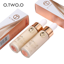 O.TWO.O Full Cover Liquid Foundation Makeup Face Base Long Lasting Concealer Primer BB Cream Make Up Cosmetics 15ml