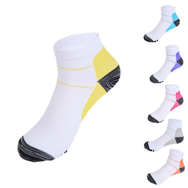 Laamei 2018 Men Women Solid Color Fashion Socks Absorbing Men Socks Compression Cotton Socks Dropshipping