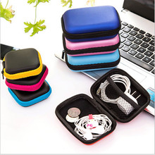 2 sizes Storage Bag Case For Earphone EVA Headphone Case Container Cable Earbuds Storage Box Pouch Bag Holder(without earphone)
