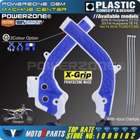 Powerzone X Grip Frame Guard Protection Cover For HUSQVARNA TC125 TC250 FC250 FC350 FC450 TE250 TE300