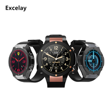 Excelay H2 Montre Intelligente MTK6582 1.39 pouces 400*400 GPS Wifi 3G Coeur Taux Monitor1G + 16G Bluetooth 4.0 Smart reminde