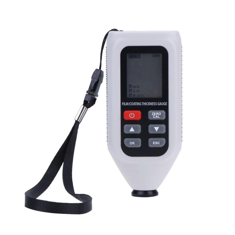 все цены на Portable Precision LCD Digital Coating Thickness Gauge Car Painting Meter Handheld Vehicle Coating Thickness Gauge Tester онлайн
