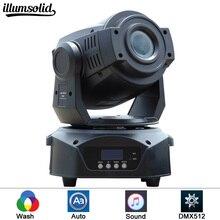 Этап лучевые прожекторы гобо Мини проектор с перемещающейся головкой Лира мобильный prism пятно 90 Вт led перемещение головы