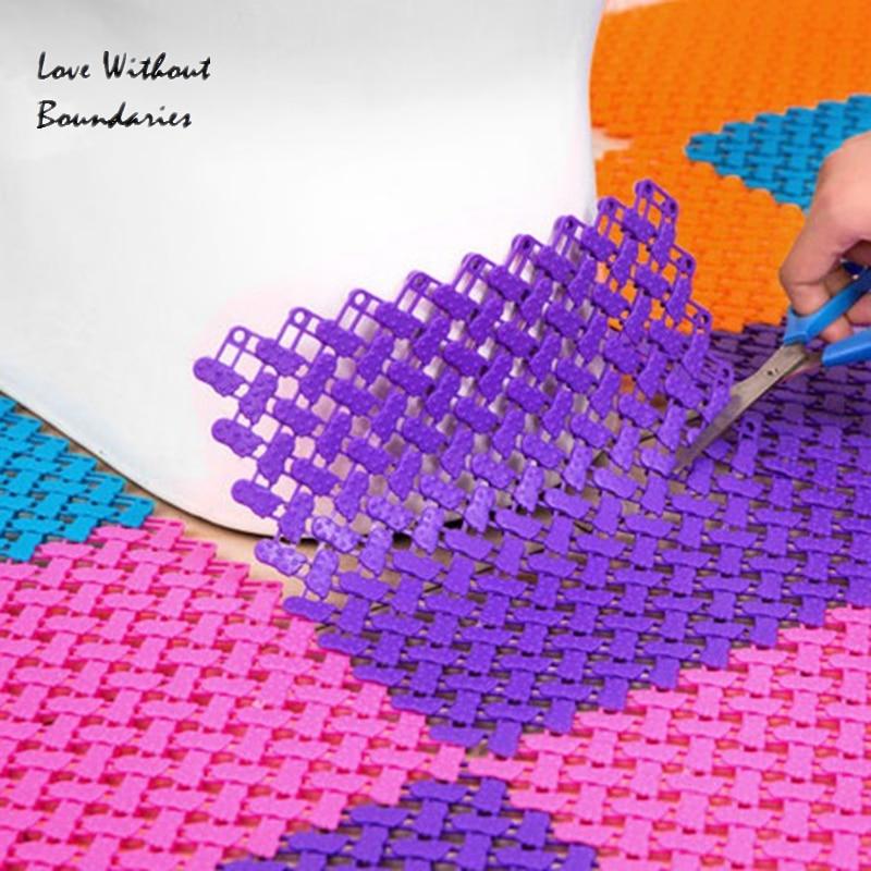 Slide proof rug non slip mat kitchen and toilet design Material TPR ...