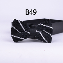 Stylish Knitted Bowtie Fashion Lovely Personality Butterfly Adult Bowties Knit Men Tie For Party