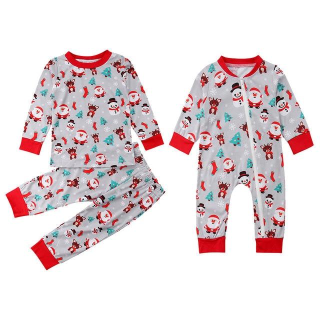Christmas Family Matching Little Brother Big Brother Pajamas Sleepwear ... a499b8872