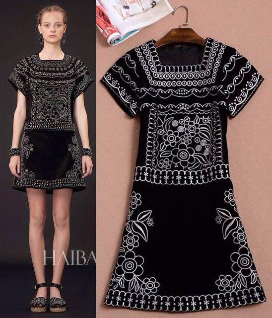 193e0680b أعلى جودة النساء ملابس أنيقة خمر التطريز xc046 الفساتين الطرف في ...