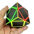 НОВЫЕ Прибыл Углеродного Волокна Стикер Skewb Magic Cube Скорость Гладкой Головоломка Кубики Твист Развивающие Игрушки Специальные Игрушки для Детей Подарок 48