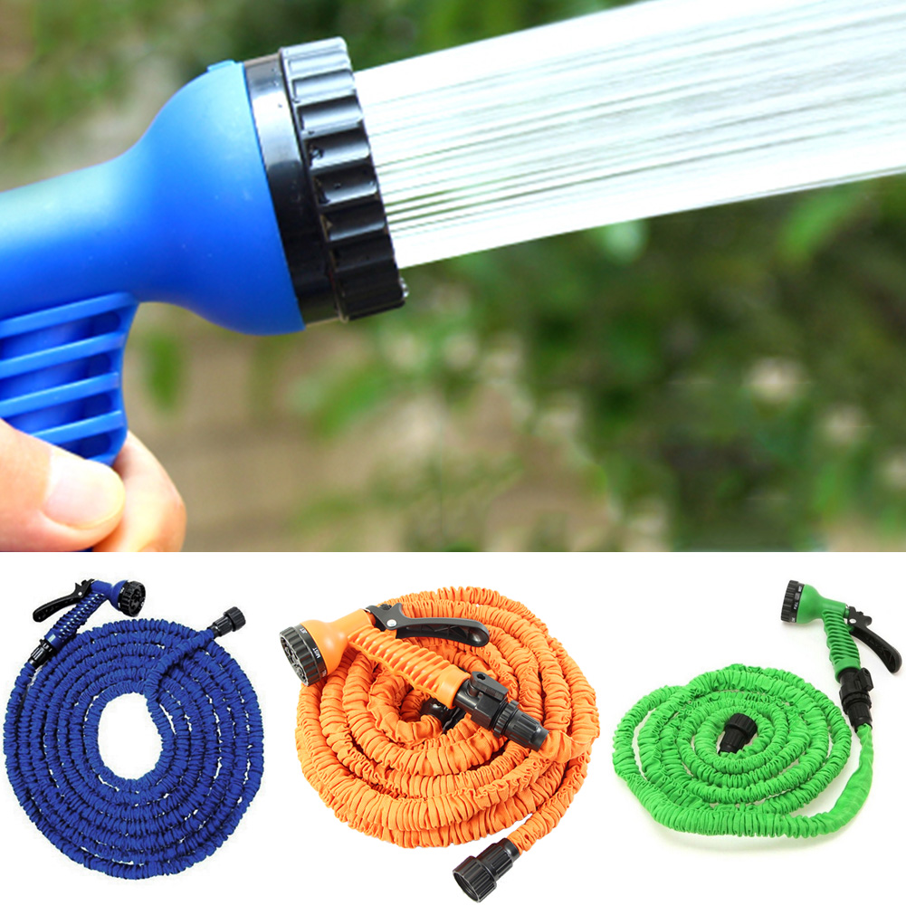 Free shipping 25 200FT Garden hose with expandable water hose blue ...