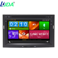 2din8 Wince Touch Screen Car Autoradio Dvd Player Gps Navigation Auto Radio Multimedia Dsiplay For Peugeot