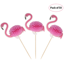 50pcs Toothpick 3D Cartoon Fruit Food Toothpicks Cupcake Topper Cake Picks Decorations for Wedding Birthday Pool Party Decor