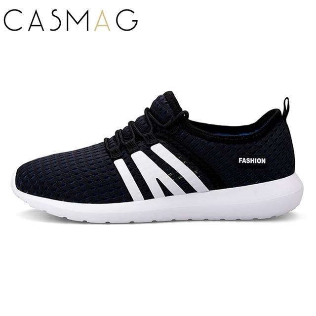 120287f91a0 CASMAG Hommes de Chaussures de Course Respirant Facile Doux Run Baskets  Semelle Extérieure En Caoutchouc Chaussures