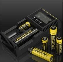 100%เดิมNitecore D2 Digchargerชาร์จแบตเตอรี่จอแสดงผลLCD Nitecoreชาร์จสำหรับ26650 18650 18350 16340 14500 10440