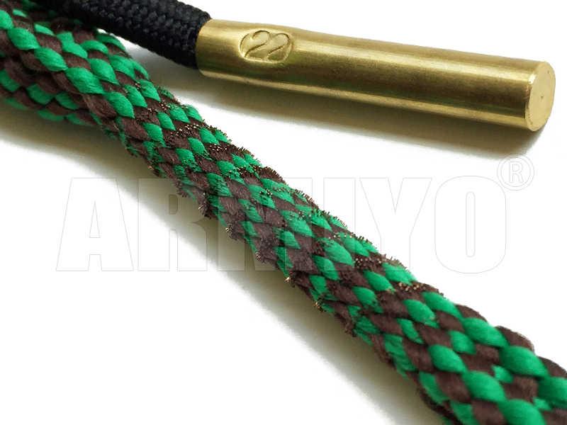 Armiyo Boring Snake. 22Cal 5.56mm Rifle Vat Cleaner Pistool Boring Reiniging Sling Kit 24011 Jacht Airsoft Schieten Accessoires