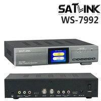 Оригинальный Satlink ws 7990 WS 7992 2 Route DVB T модулятор AV HD два маршрутизатора DM модулятор Satlink 7992 DVB T HD цифровой модулятор rf