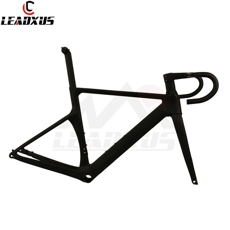 LEADXUS CLK400X T800 Carbon Fiber Disc Brake Bike Frame Carbon Bicycle Frame+Fork+Seat Post+Clamp+Handlebar+Spacer+Headset+BB