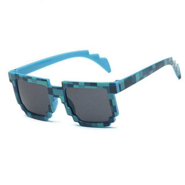05c9715f41dcc Ywjanp 2019 New Kids sunglasses Mosaic Sun Glasses Unisex Pixel Sunglasses  Trendy Minecraft Glasses Baby sunglass