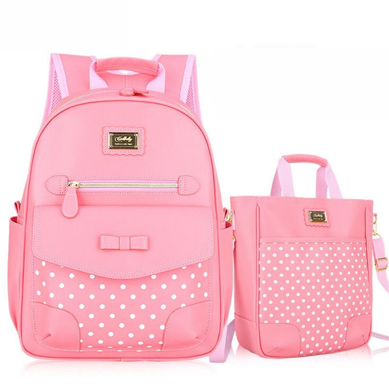 Fashion Cute Girls School Bag Hot Selling Girl Children School Backpack 1-6 Grade Primary Cute Backpack Schoolbags