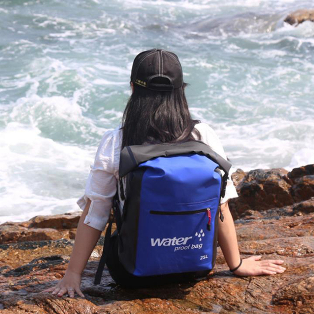 Waterproof Backpack for Sports and Travel: 25L Capacity