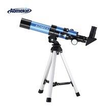 AOMEKIE F40040M Начинающий астрономический телескоп 20X/32X с компактным штативом компасом для наблюдения за луной, телескопическая детская игрушка в подарок