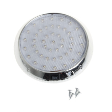 Lampe circulaire à 37led blanche en forme de dôme, éclairage dintérieur, luminaire de plafond, idéal pour une voiture, une caravane, un Taxi, 12V