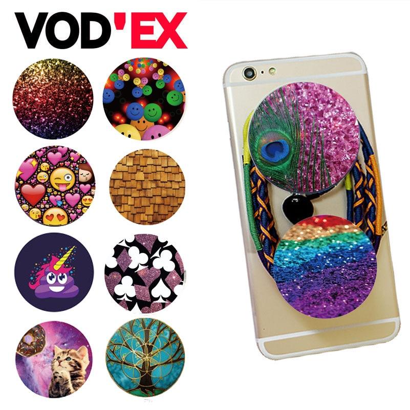 Цена за 100 шт./лот поп vodex высокой четкости держатель Универсальный Расширение Стоять и сцепление для смартфонов и планшетов Mobile