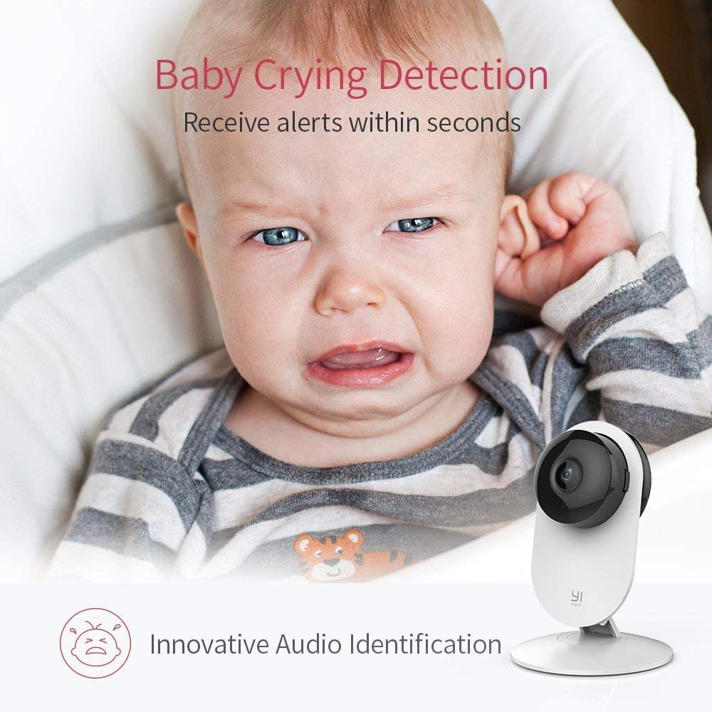 Yi Home Camera 1080P 2 FHD IP Security Camera Baby Monitor Wireless CCTV WIFI Night Vision International Version Camera Owl CMOS