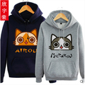 Monster Hunter 4 Airu Cat Anime Cosplay Costume Customized  Hoodie Jacket