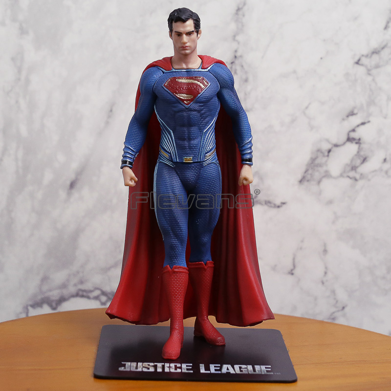 ARTFX + STATUE Justice League Superman 1/10 Scale PVC Figure Collectible Model Toy 18cm shf figuarts superman in justice ver pvc action figure collectible model toy