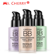 Repair Isolation BB Cream Light Breathable Liquid Foundation Cream Concealer Base Dermacol Brightening Beauty Makeup MF037