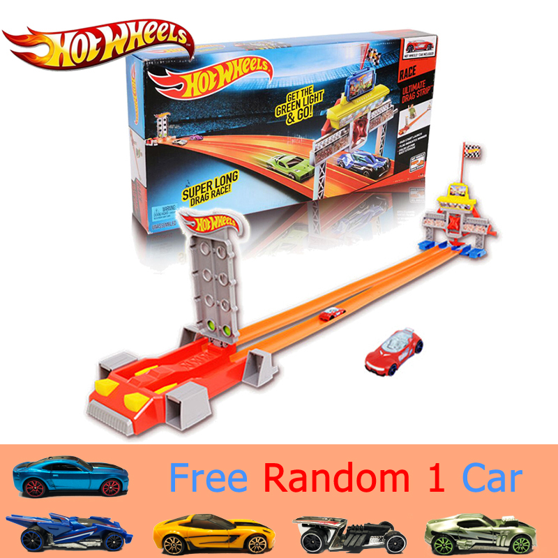 2017 New Hotwheels Car Track Set Straight Track Acceleration Track Car Toy Educational Building Hot Wheels Track Model CBY76
