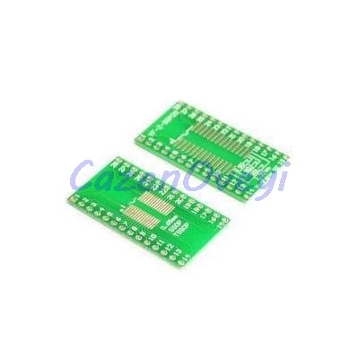 5pcs/lot TSSOP28 SSOP28 SOP28 To DIP28 Transfer Board DIP Pin Board Pitch Adapter In Stock
