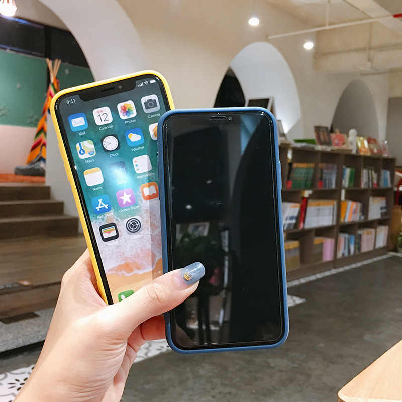 Telefoon Case Voor Iphone Xs Max Xr 7 Plus 6 6 S Luxe Voor Vrouwen Case Voor Iphone 8 Plus zachte Tpu Silicone Cover Case