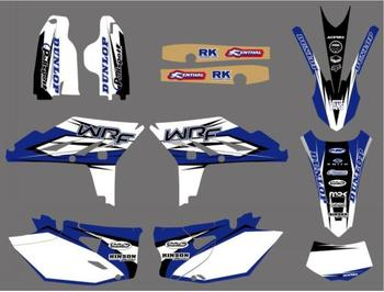 NEW STYLE TEAM WRF450 WR450F Stciker kit GRAPHICS DECALS FOR YAMAHA WR450F WRF450 2012 2013 2014