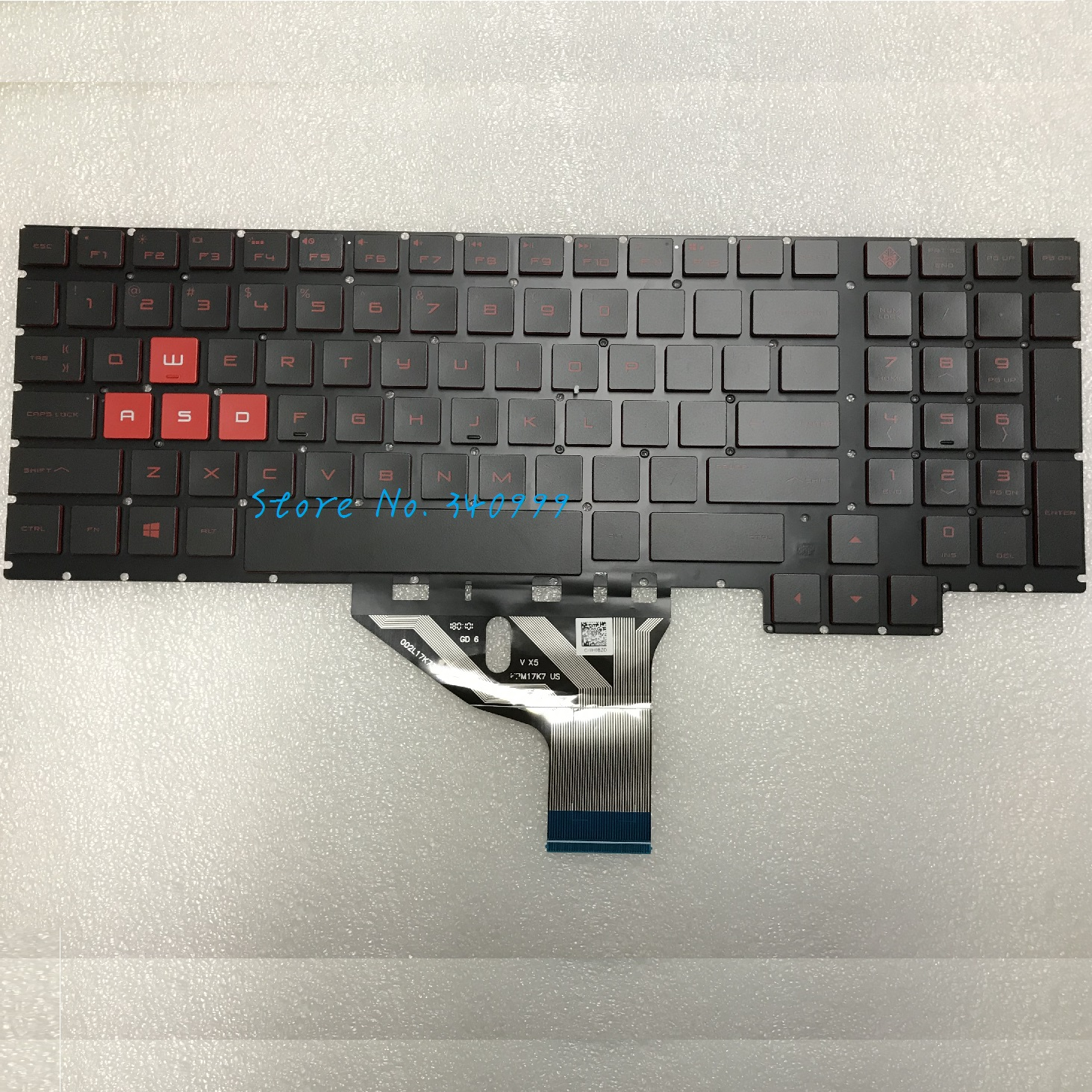 New HP Omen 15-CE 15-CE010CA 15-CE020CA 15-CE030CA 15-CE051NR Backlit Keyboard