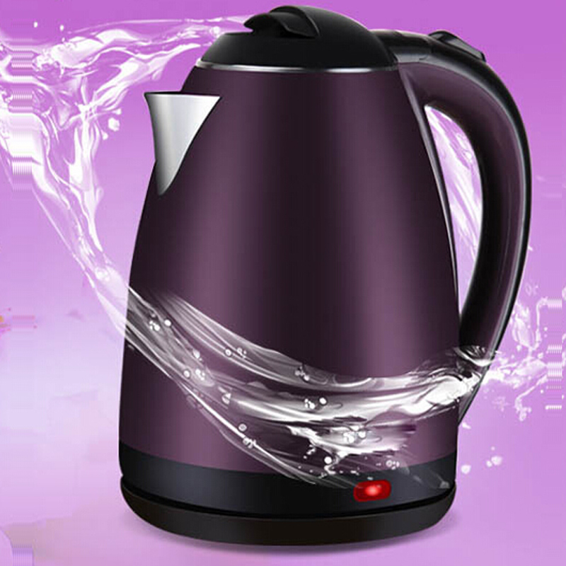VOSOCO Electric kettle Heating Hot Quick Heating Auto 1500W 2L  Prevent dry burning kettle Scald proof stainless steel kettle xeltek private seat tqfp64 ta050 b006 burning test