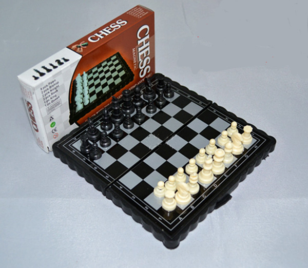 Buy free shipping mini foldable magnetic Where can i buy a chess game
