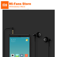 2018 New Original Xiaomi Mi Dual Units Half In Ear Earphone 3 5MM Slot With Mic