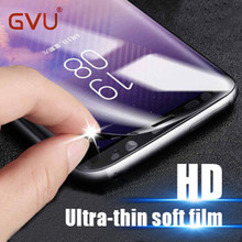 GVU 3D Soft Film For Samsung Galaxy S8 S8 S6 Edge Plus HD Full Coverage Transparent Explosion Proof Film For Samsung S6 S7 Edge