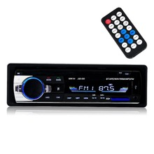 Bluetooth Audio Receiver MP3 Player/FM Radio1 Din in Dash USB/SD/AUX Car Electronics with Remote Control, Car Stereo Player, 12V